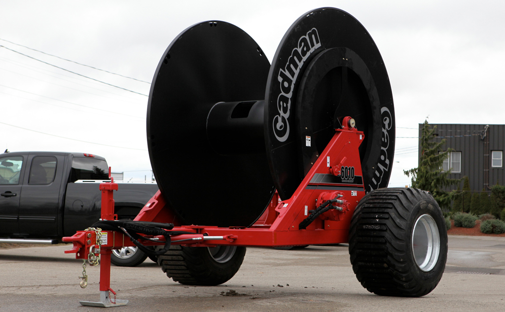 Cadman 3pt-Hitch Caddy with Manure Boom