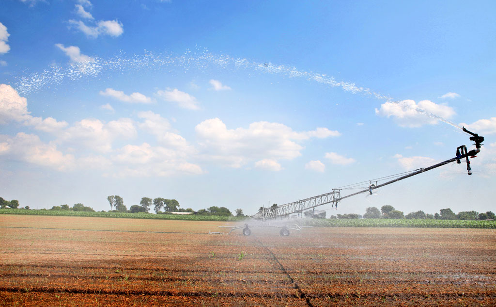 Cadman Irrigation Boom