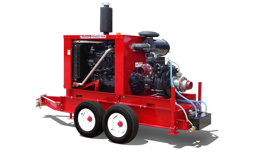 Cadman Manure Pump Set