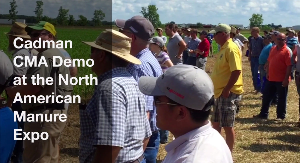 CMA North American Manure Expo Demo