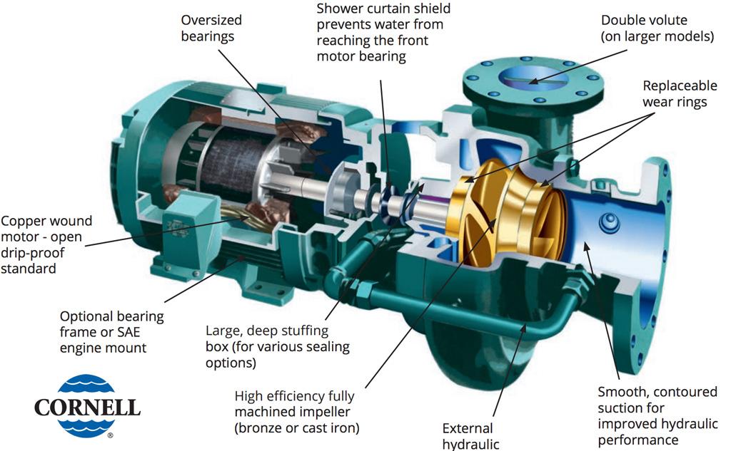 Cornell Irrigation Pump
